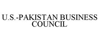 mark for U.S.-PAKISTAN BUSINESS COUNCIL, trademark #78774896