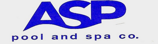 mark for ASP POOL AND SPA CO., trademark #78774976