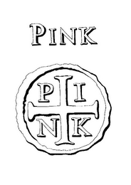 mark for PINK P I N K, trademark #78776059