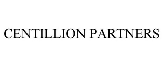 mark for CENTILLION PARTNERS, trademark #78776191