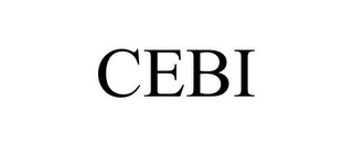 mark for CEBI, trademark #78777050