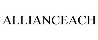 mark for ALLIANCEACH, trademark #78777072