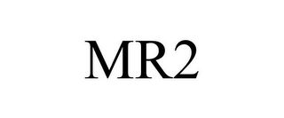 mark for MR2, trademark #78777082