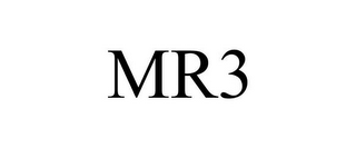 mark for MR3, trademark #78777092