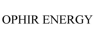 mark for OPHIR ENERGY, trademark #78777184