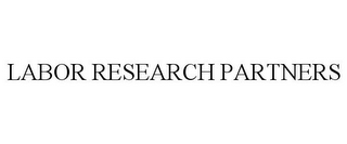mark for LABOR RESEARCH PARTNERS, trademark #78777195