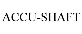 mark for ACCU-SHAFT, trademark #78777563