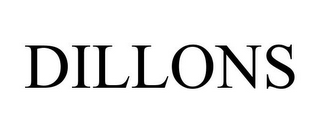 mark for DILLONS, trademark #78778056