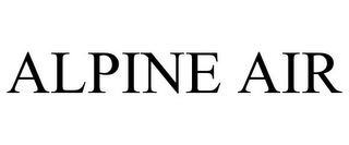 mark for ALPINE AIR, trademark #78778746