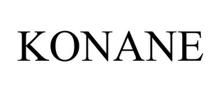mark for KONANE, trademark #78780010