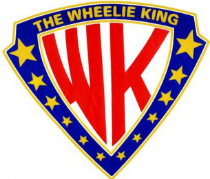 mark for WK THE WHEELIE KING, trademark #78780527