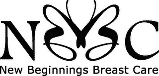 mark for NBBC NEW BEGINNINGS BREAST CARE, trademark #78781296