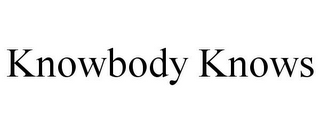 mark for KNOWBODY KNOWS, trademark #78781893