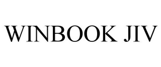 mark for WINBOOK JIV, trademark #78781911