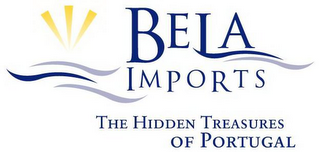 mark for BELA IMPORTS THE HIDDEN TREASURES OF PORTUGAL, trademark #78783505