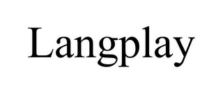 mark for LANGPLAY, trademark #78785152