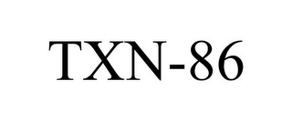 mark for TXN-86, trademark #78785644