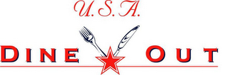 mark for U.S.A. DINE OUT, trademark #78785767
