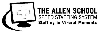mark for THE ALLEN SCHOOL SPEED STAFFING SYSTEM STAFFING IN VIRTUAL MOMENTS, trademark #78785961