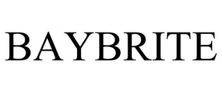 mark for BAYBRITE, trademark #78786636