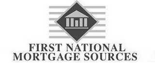 mark for FIRST NATIONAL MORTGAGE SOURCES, trademark #78787004
