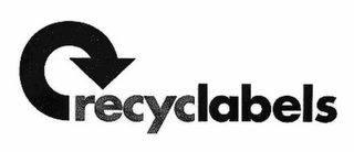 mark for RECYCLABELS, trademark #78787406