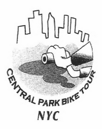mark for CENTRAL PARK BIKE TOUR NYC, trademark #78787482