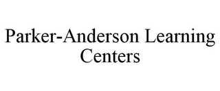 mark for PARKER-ANDERSON LEARNING CENTERS, trademark #78787934