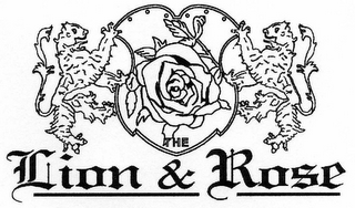 mark for THE LION & ROSE, trademark #78787953