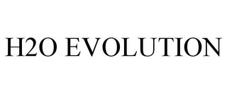 mark for H2O EVOLUTION, trademark #78788888