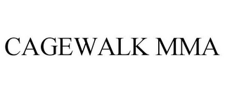 mark for CAGEWALK MMA, trademark #78789981