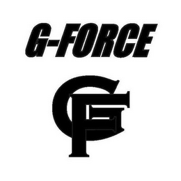 mark for G-FORCE GF, trademark #78790418