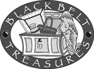 mark for BLACK BELT TREASURES, trademark #78790473