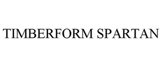 mark for TIMBERFORM SPARTAN, trademark #78790495