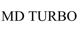 mark for MD TURBO, trademark #78790658