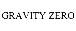 mark for GRAVITY ZERO, trademark #78790887