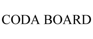 mark for CODA BOARD, trademark #78791094
