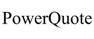 mark for POWERQUOTE, trademark #78791156