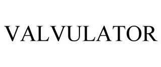 mark for VALVULATOR, trademark #78792022
