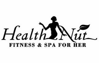mark for HEALTH NUT FITNESS & SPA FOR HER, trademark #78792863