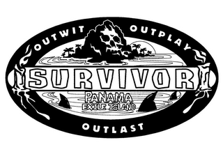 mark for SURVIVOR OUTWIT OUTPLAY OUTLAST PANAMA EXILE ISLAND, trademark #78793197