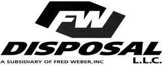 mark for FW DISPOSAL L.L.C. A SUBSIDIARY OF FRED WEBER INC., trademark #78793866