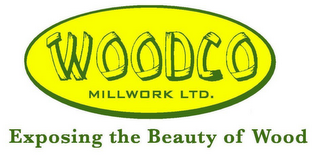 mark for WOODCO MILLWORK LTD. EXPOSING THE BEAUTY OF WOOD, trademark #78795417