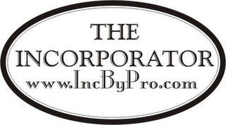 mark for THE INCORPORATOR WWW.INCBYPRO.COM, trademark #78795446