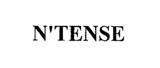 mark for N-TENSE, trademark #78796269