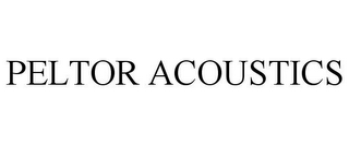 mark for PELTOR ACOUSTICS, trademark #78796819