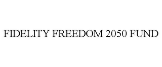 mark for FIDELITY FREEDOM 2050 FUND, trademark #78797243