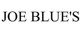 mark for JOE BLUE'S, trademark #78798402