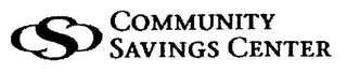 mark for CSC COMMUNITY SAVINGS CENTER, trademark #78799260