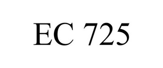 mark for EC 725, trademark #78800103